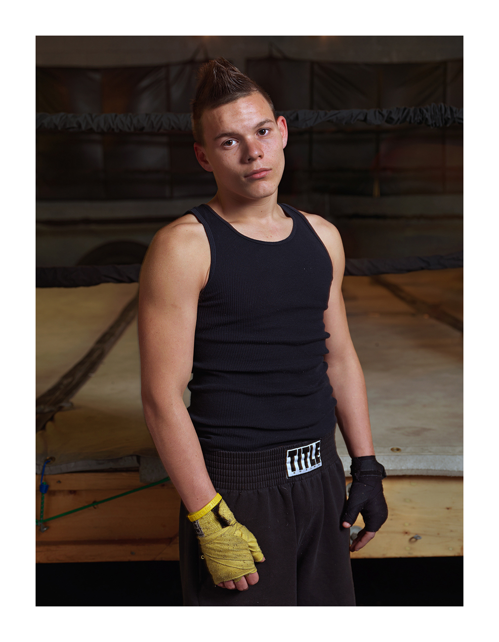 Alex, Downtown Boxing Gym, Poletown, Detroit 2011