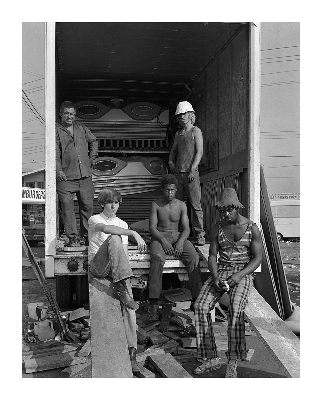 Carney Workers, Detroit, 4 Sept. 1973
