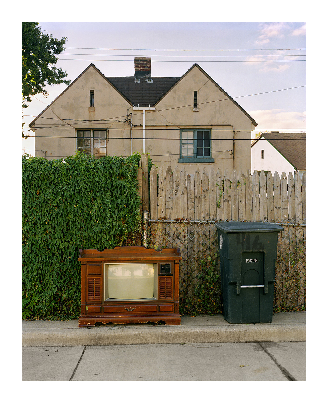 Broken TV, Marktown, East Chicago, IN 2003