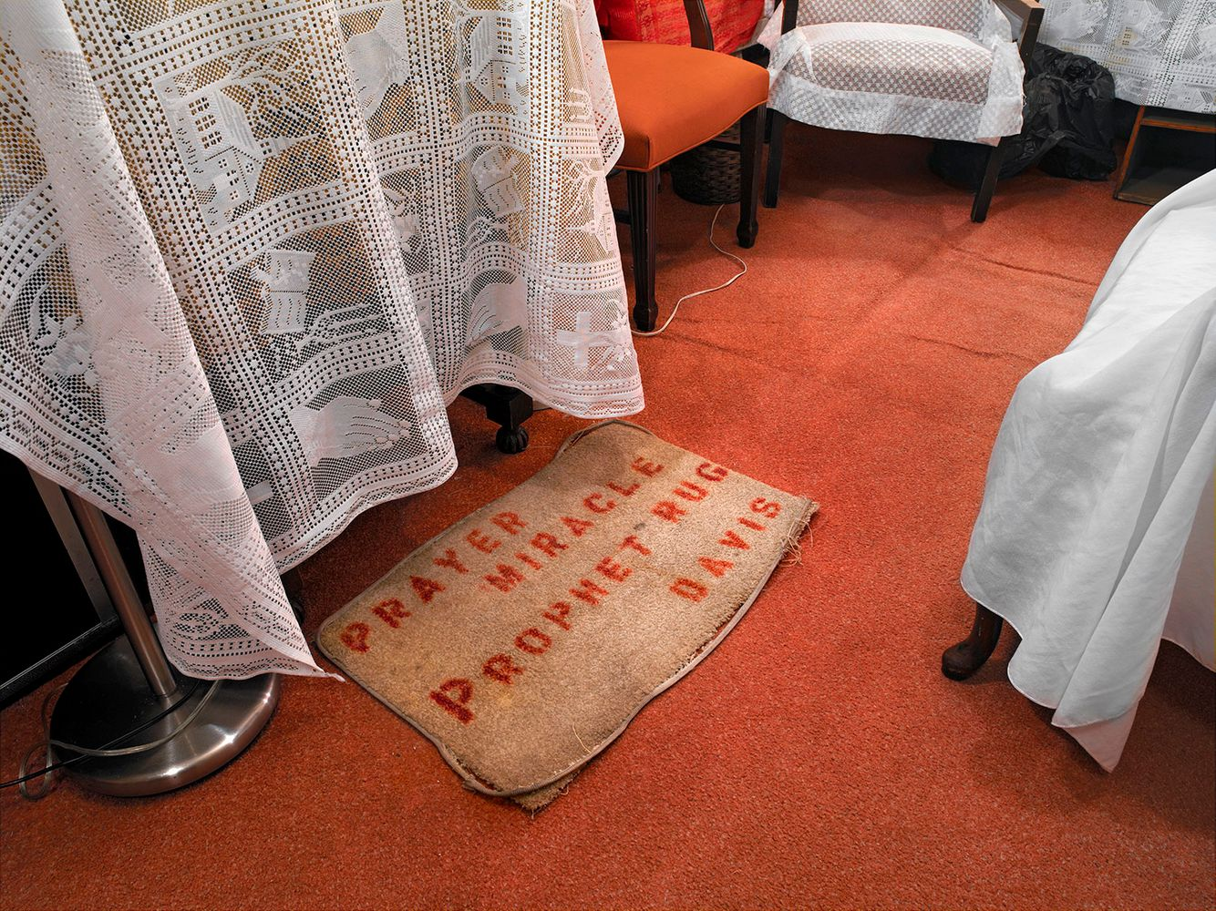 Prayer Prophet Rug, Genesis M.B. Church, Chicago 2005