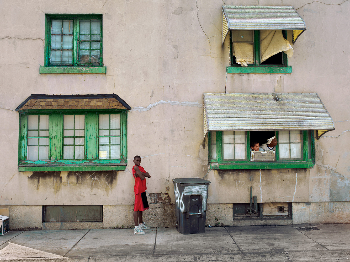 Boy in Red, Marktown, East Chicago, IN 2004