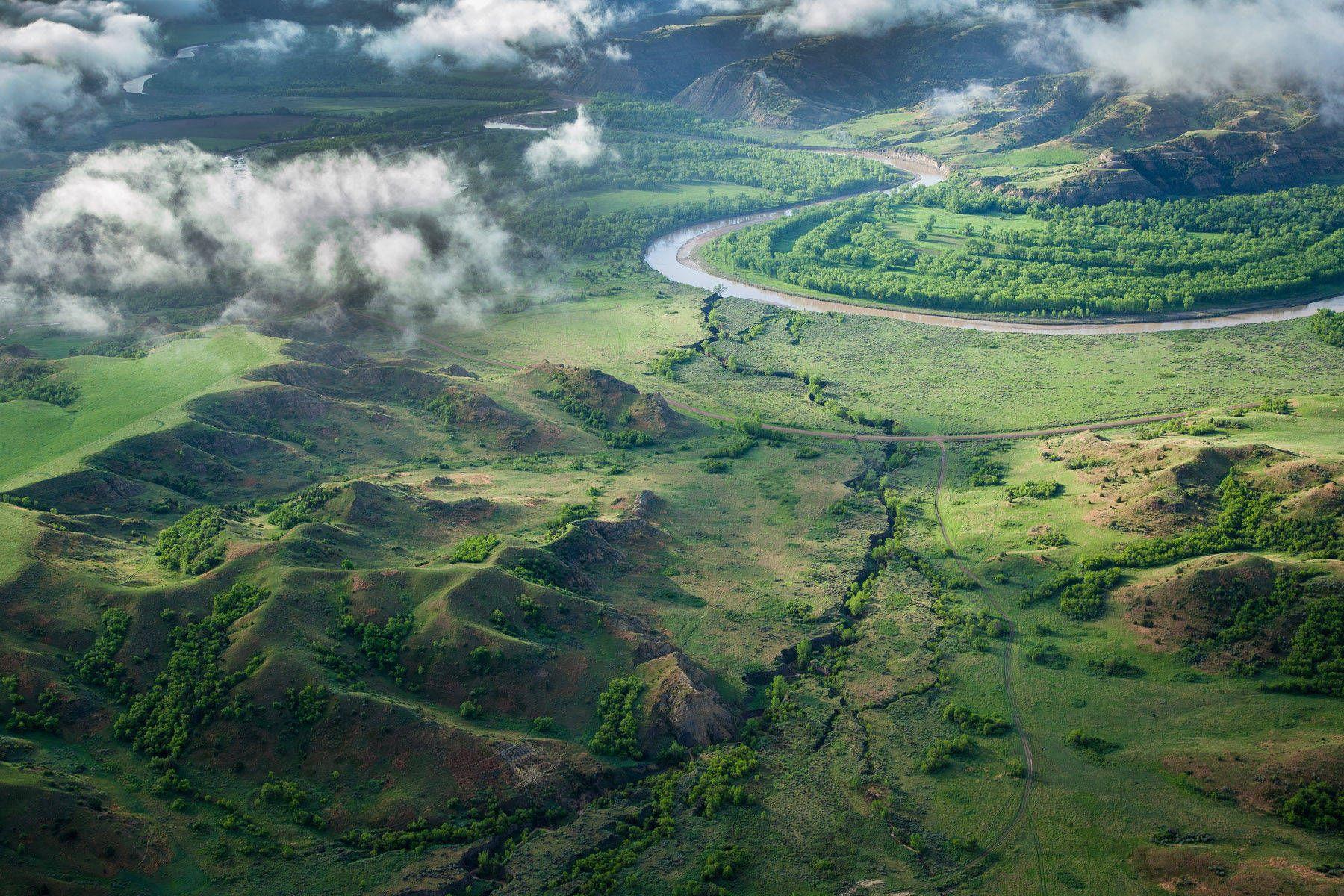 Little Missouri River valley, Theodore Roosevelt National Park