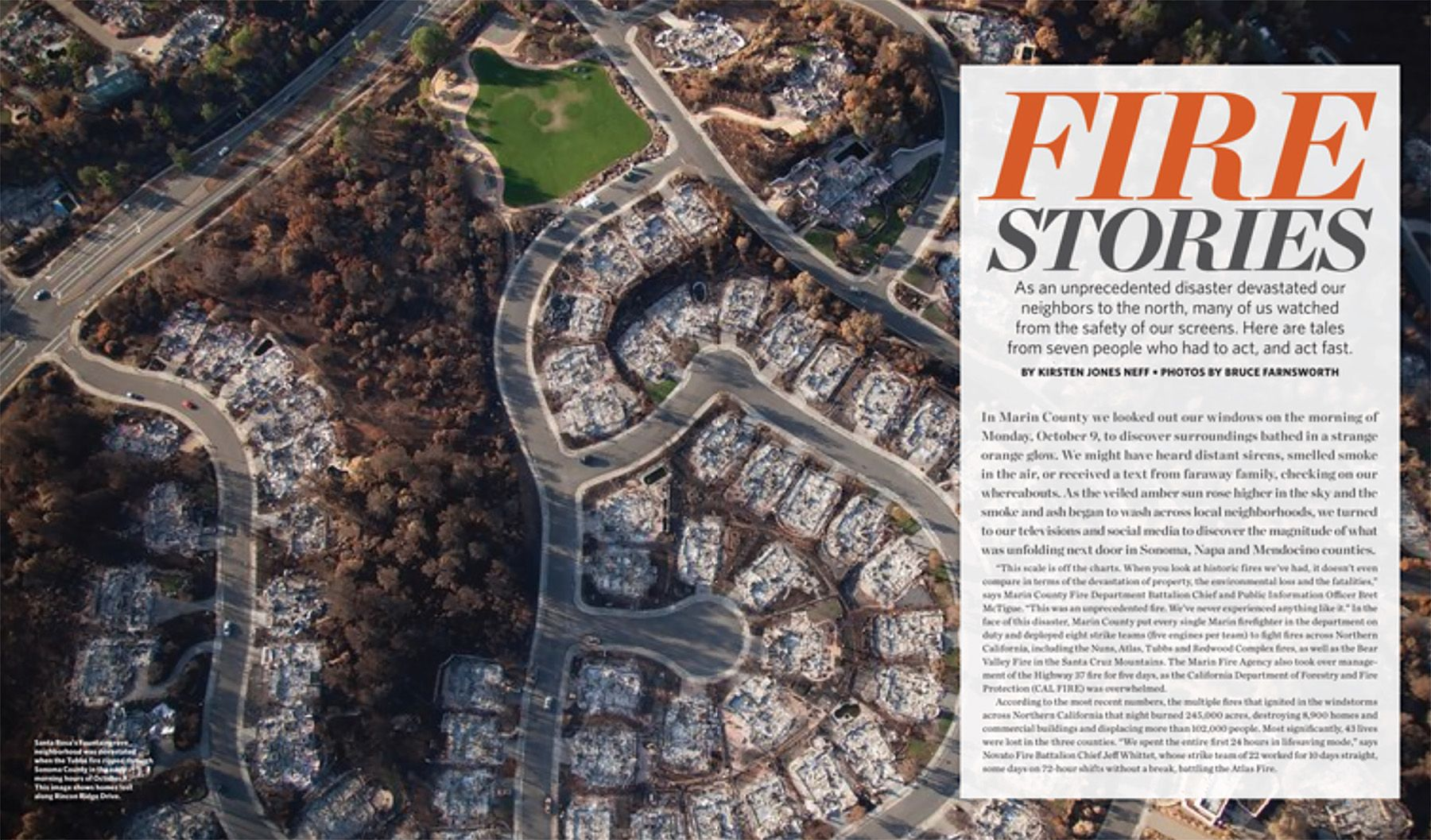 Marin Magazine Feature: Santa Rosa's Fountaingrove neighborhood - November 2017
