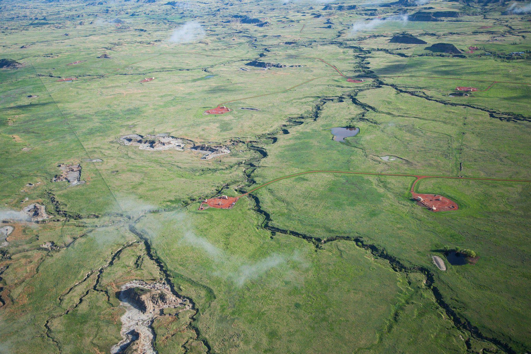 Fracking in the Bakken region encroach on Theodore Roosevelt National Park