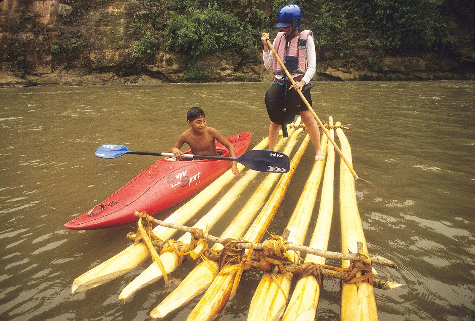 Cultural experiences in the upper Amazon basin
