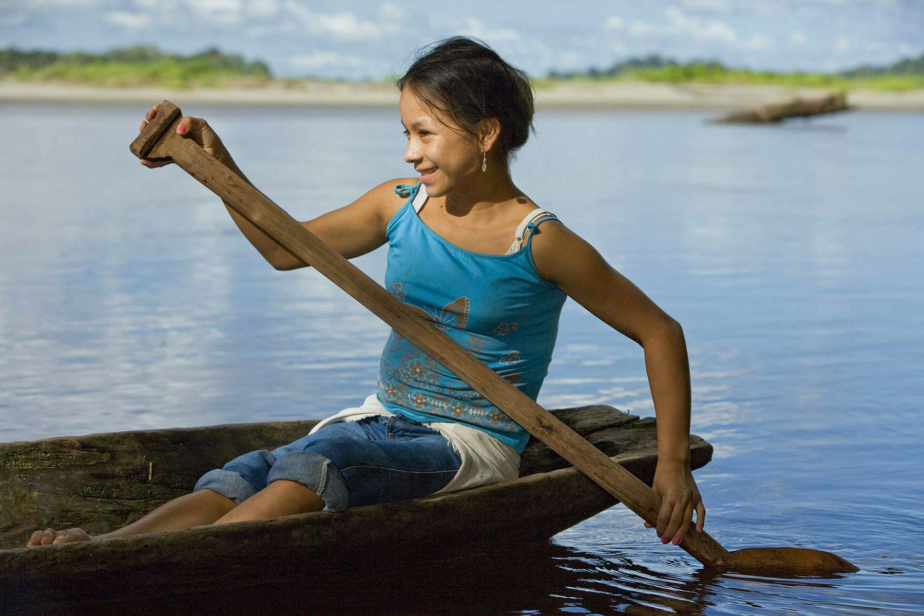 Traditional lifeways along the Napo river