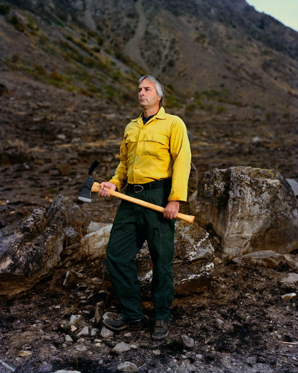 Keith Satterfield, Site of 2009 Lake Entiat Fire, Washington-3 Months Later