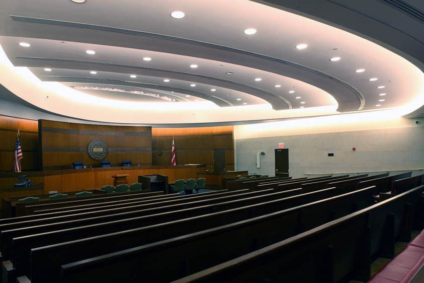 District of Columbia Courtroom