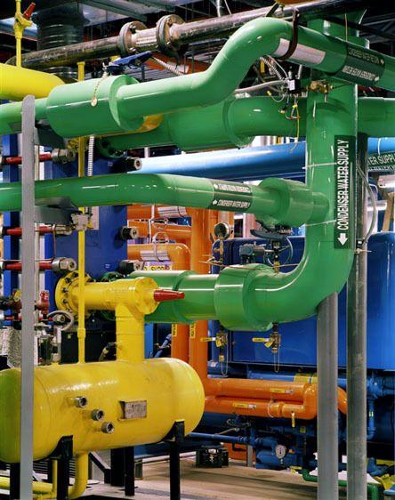Johns Hopkins Hospital - Physical Plant Piping