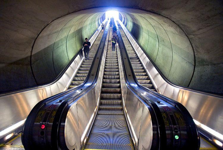 Metro Station Dupont Circle Washington DC