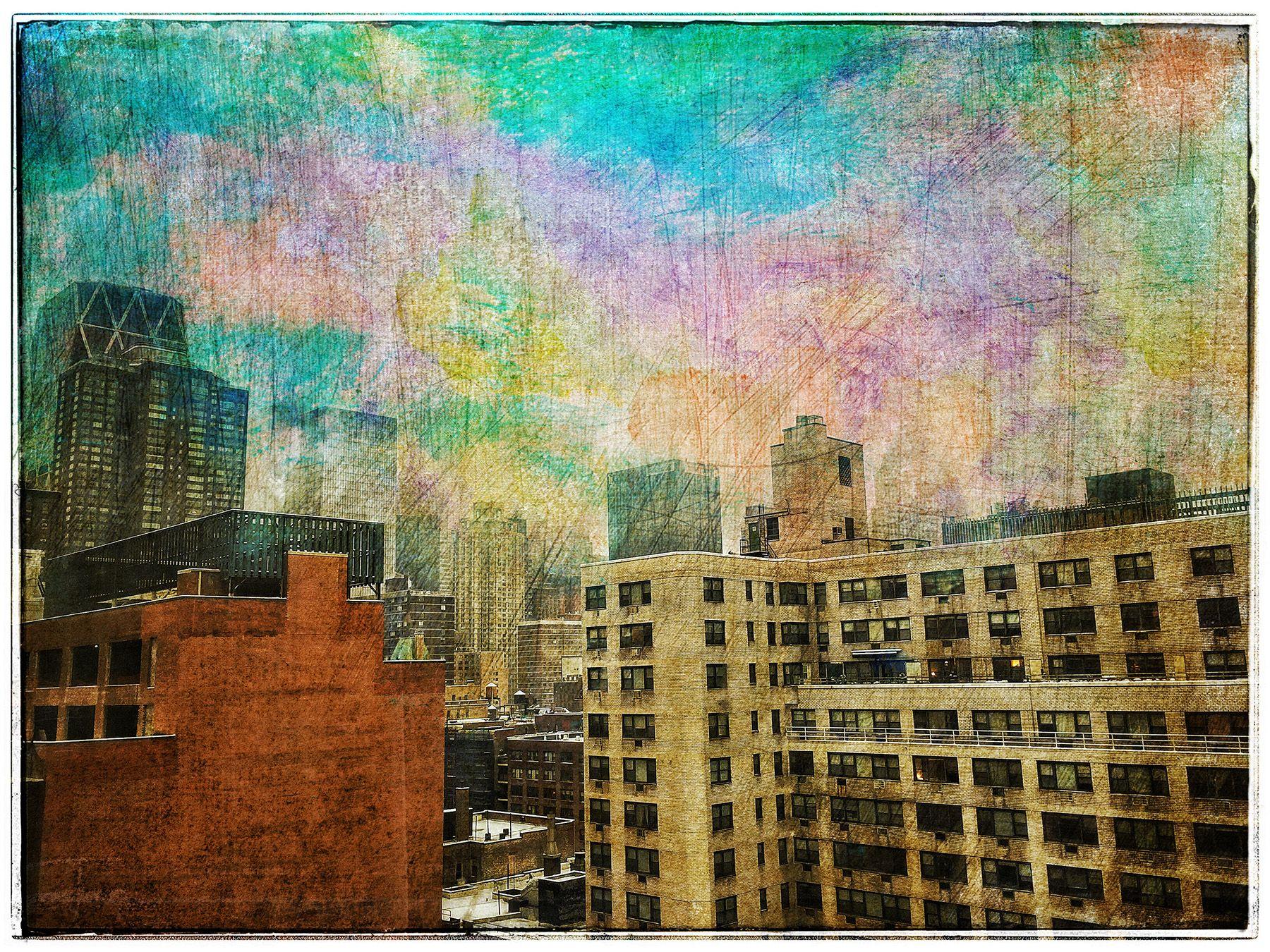 Cityscape  Wtih Texture