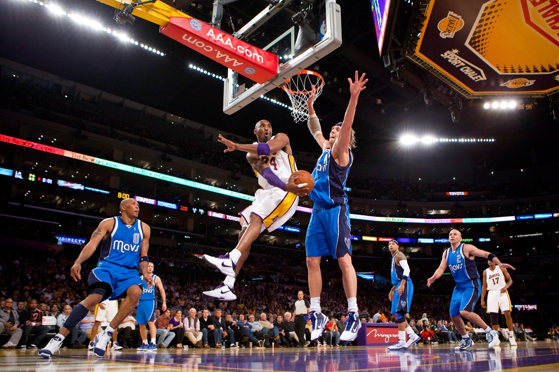 NBA: JAN 03 Mavericks at Lakers