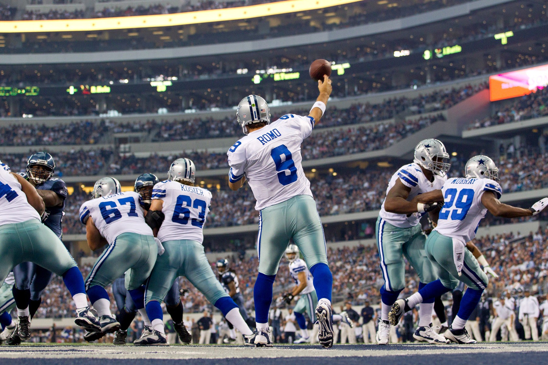 NFL: NOV 06: Seahawks at Cowboys