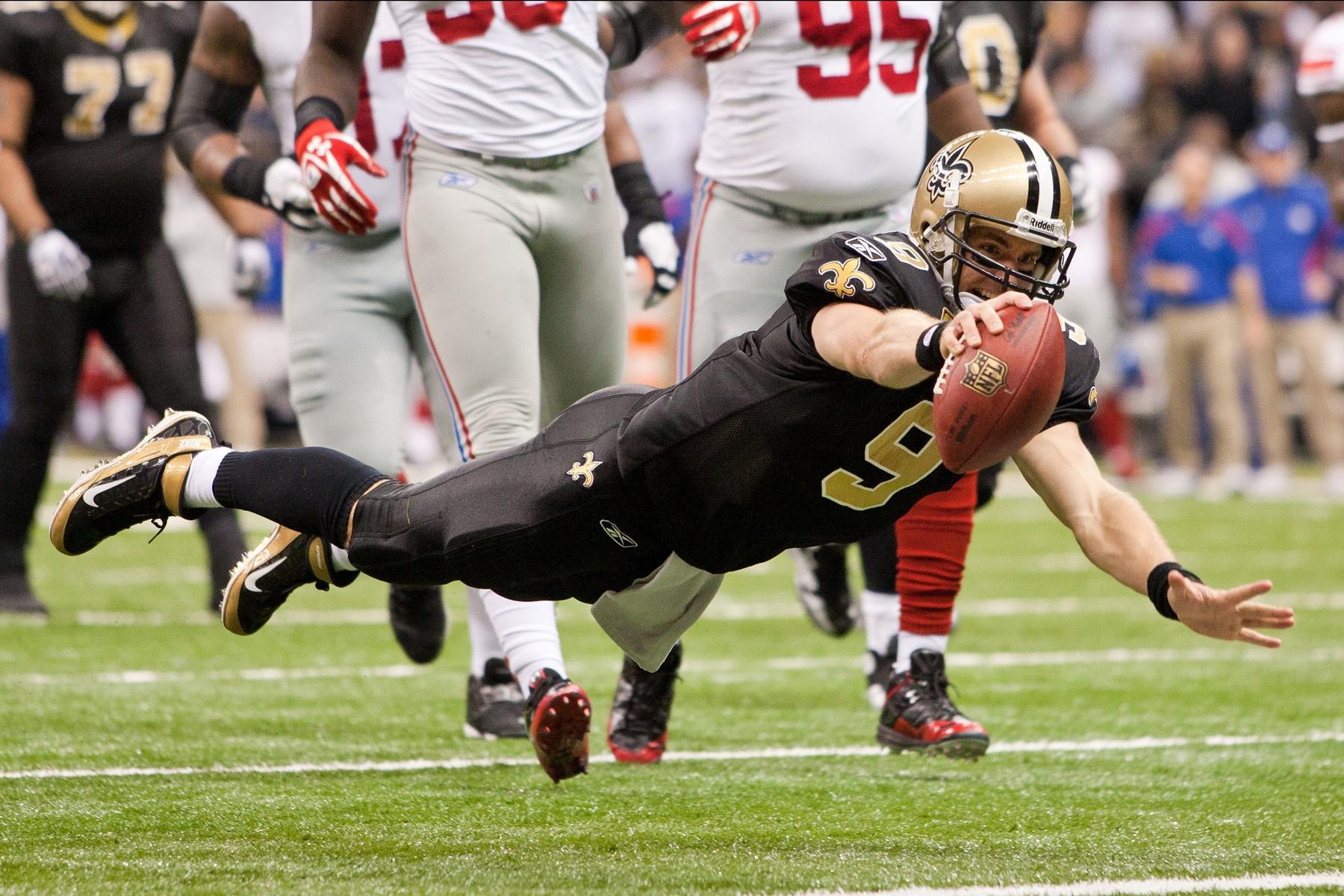 NFL: NOV 28: Giants at Saints
