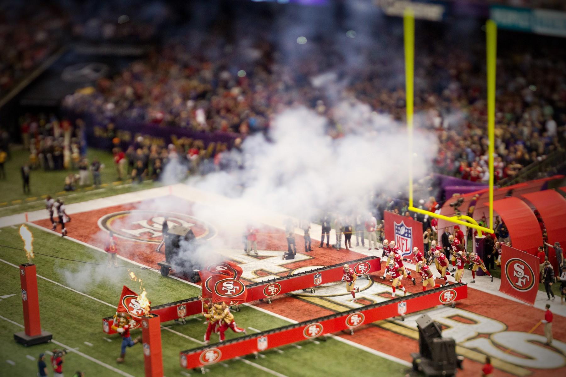 NFL: FEB 03 Superbowl XLVII - Ravens at 49ers