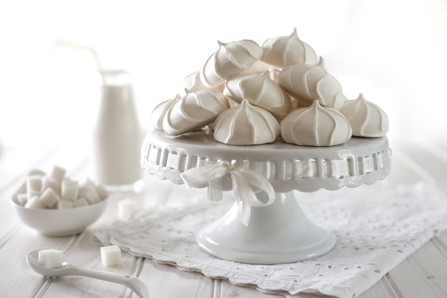 Black and White Meringues