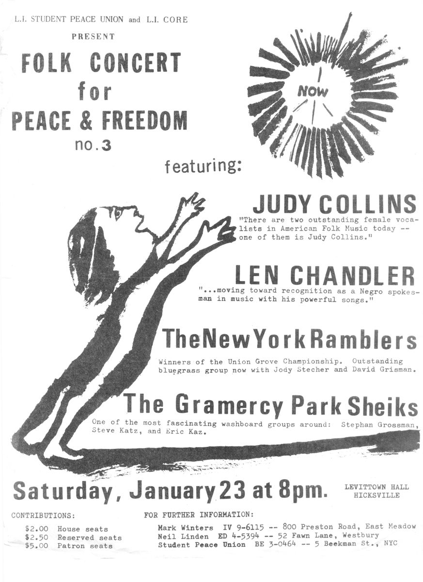Peace Concert at Hicksville, Long Island