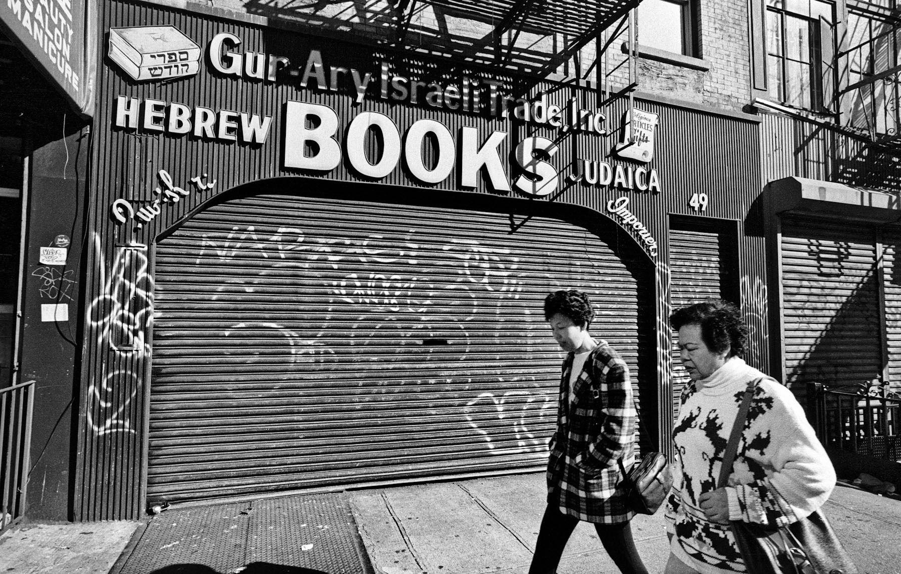 Lower East Side, New York10/20/93