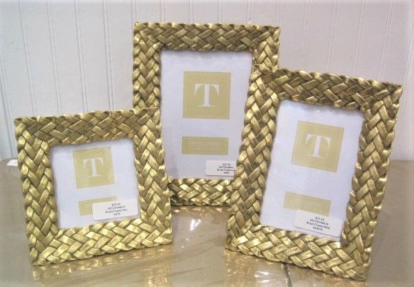 Gold Braided Picture Frames
