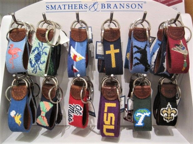 Needlepoint Key Fobs $28.50.JPG