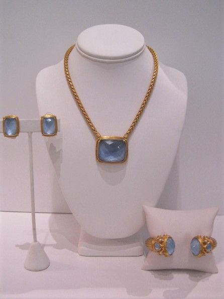 JV Monteray Iridescent Chalcedony Necklace $395, Byzantine Hinged Cuff $345, Monteray Clip-on Earrings $185.JPG
