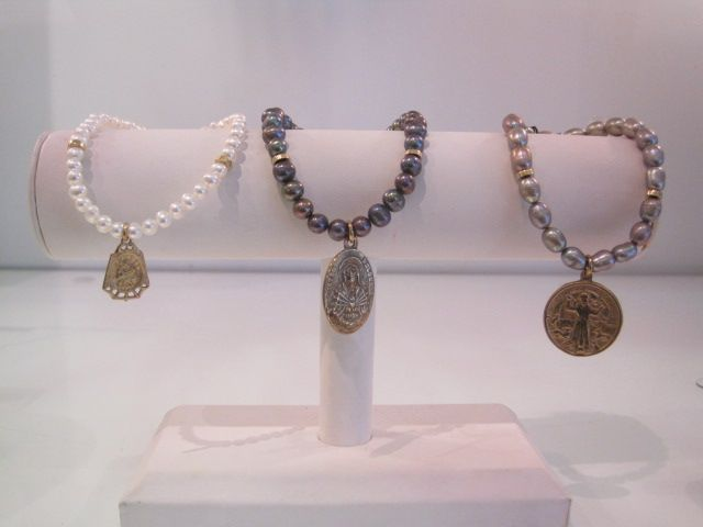Bronze Medal with Freshwater Pearls $58-$66.JPG