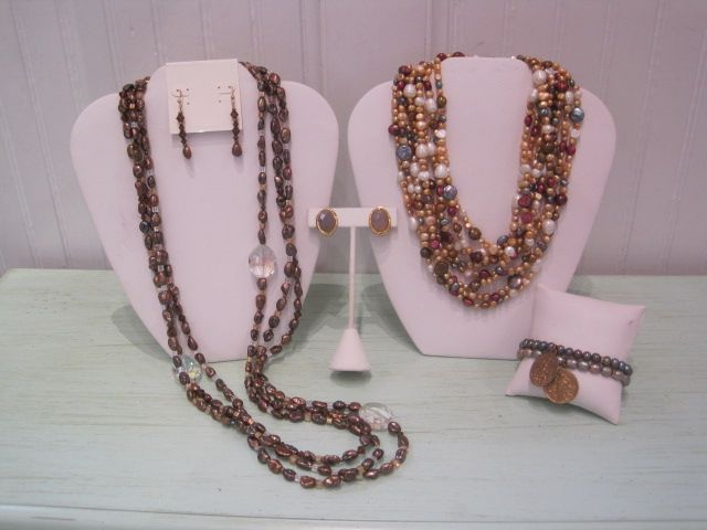 Gold and Copper Pearls