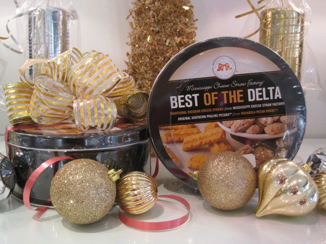 Best of the Delta Cheddar Cheese Straws and Southern Praline Pecans $26.JPG