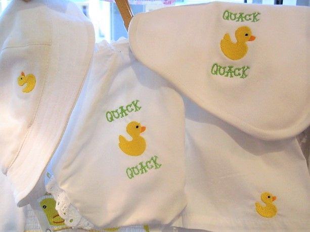 Something Duckie Knit Hat $26, Bib $22, Girl Diaper Cover $24, Boxers $24.JPG