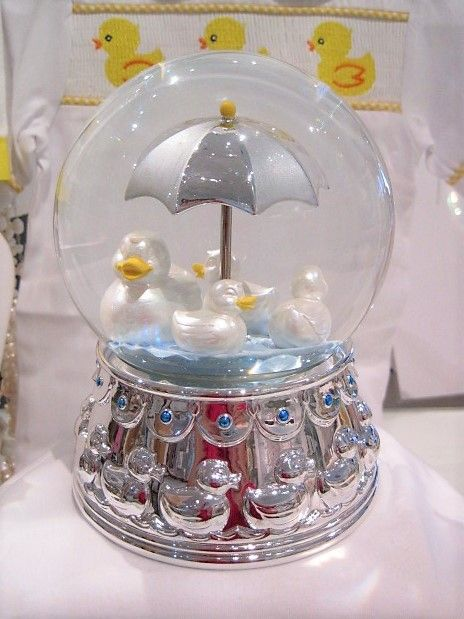 Something Duckie Rain Globe & Music Box $60.JPG