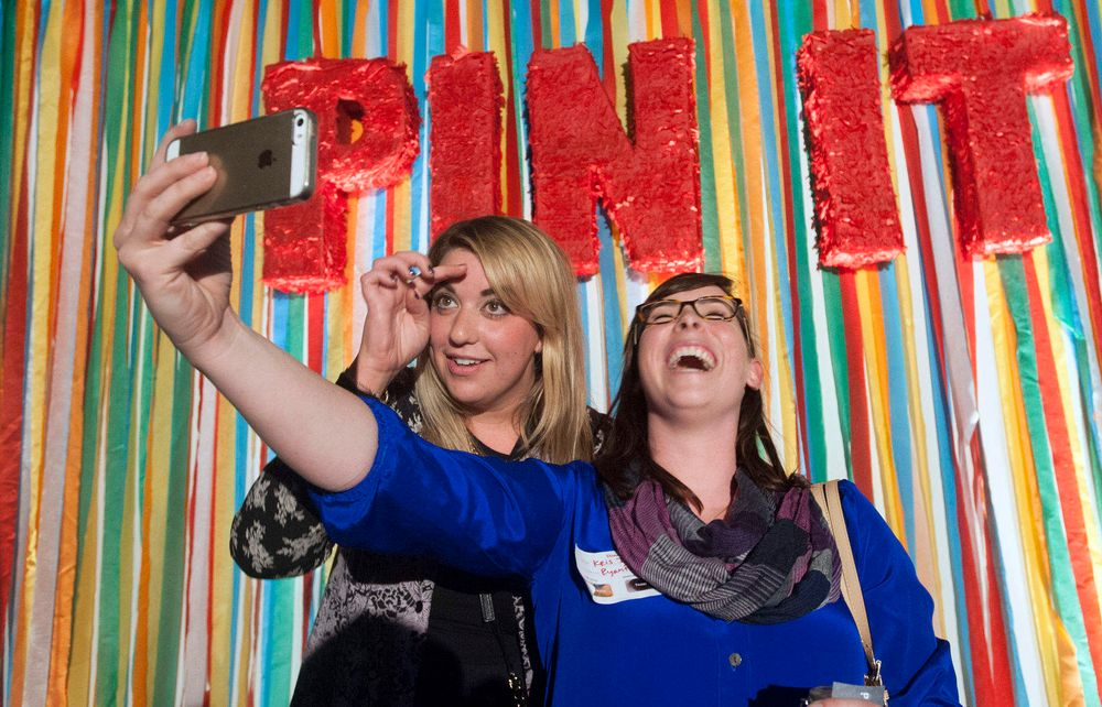PINTEREST: media event at the company's corporate headquarters office in San Francisco