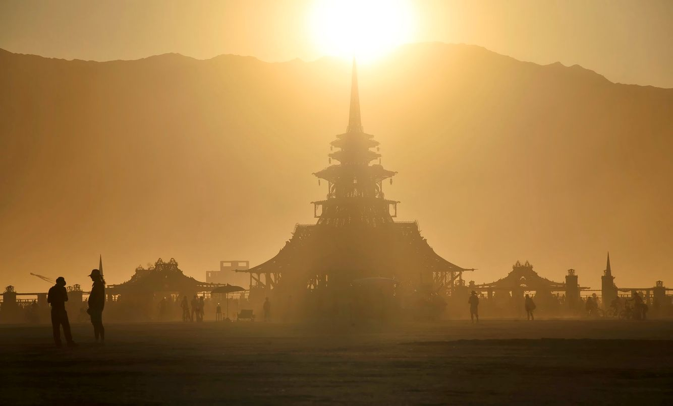BURNING MAN: Temple