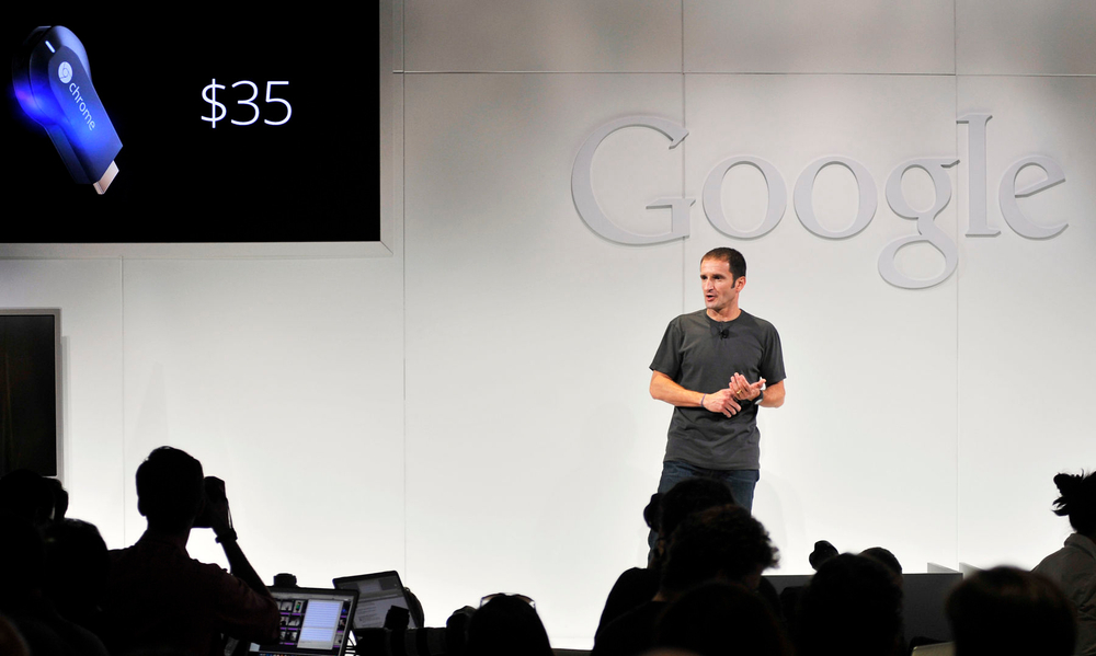 GOOGLE: VP at product launch