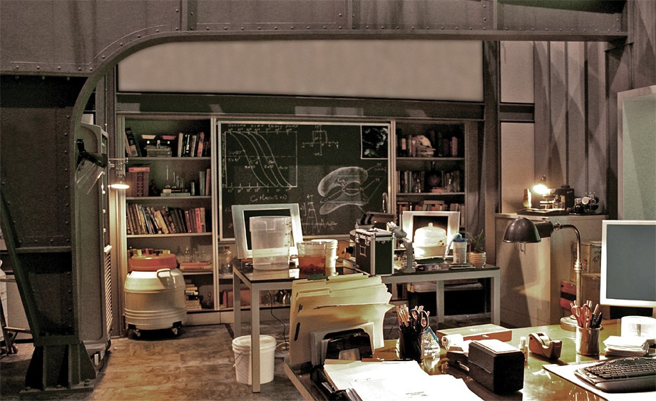 Int. Cirko's Office- Scientist's Office in a converted government warehouse