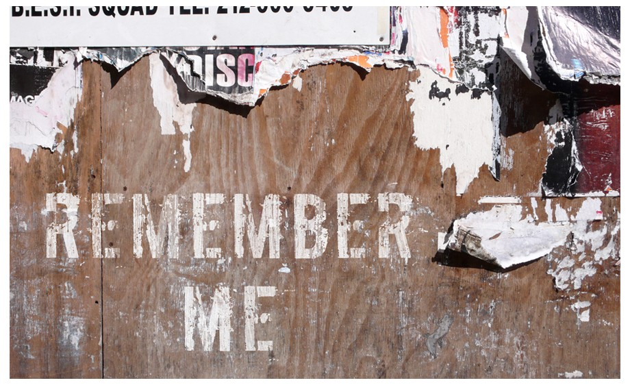"Show logo for the feature film ""Remember Me"""