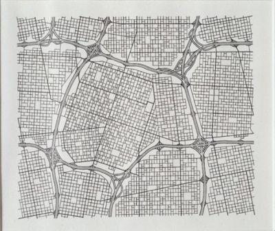 Los Angeles (Textile Pattern)