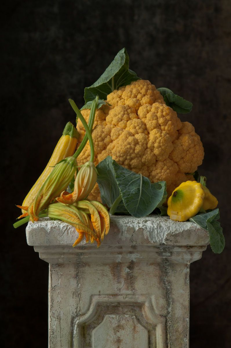Cheddar Cauliflower Still Life, 2015