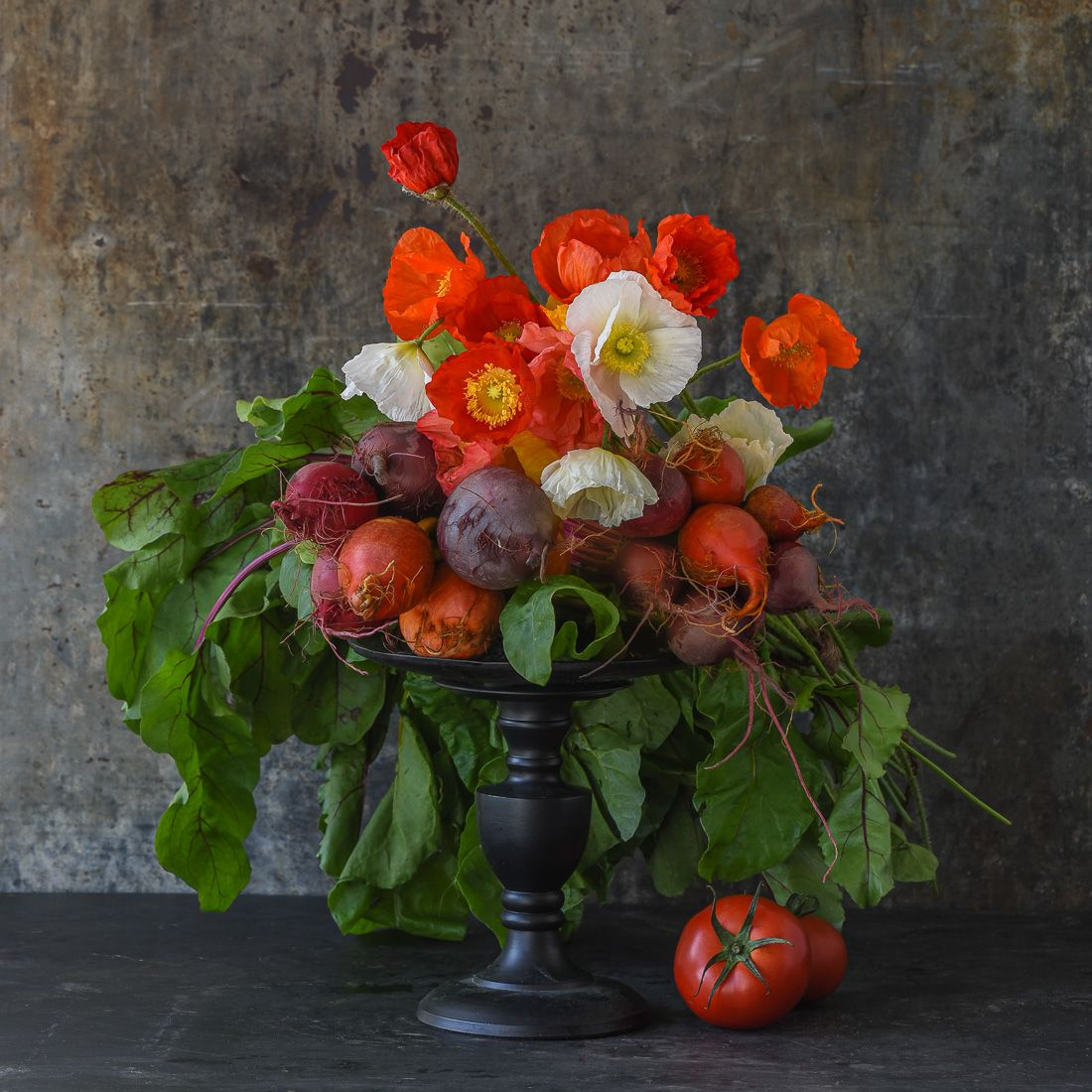 Lynn Lynn Karlin_Bouquet of Poppies & Beets-25.jpg