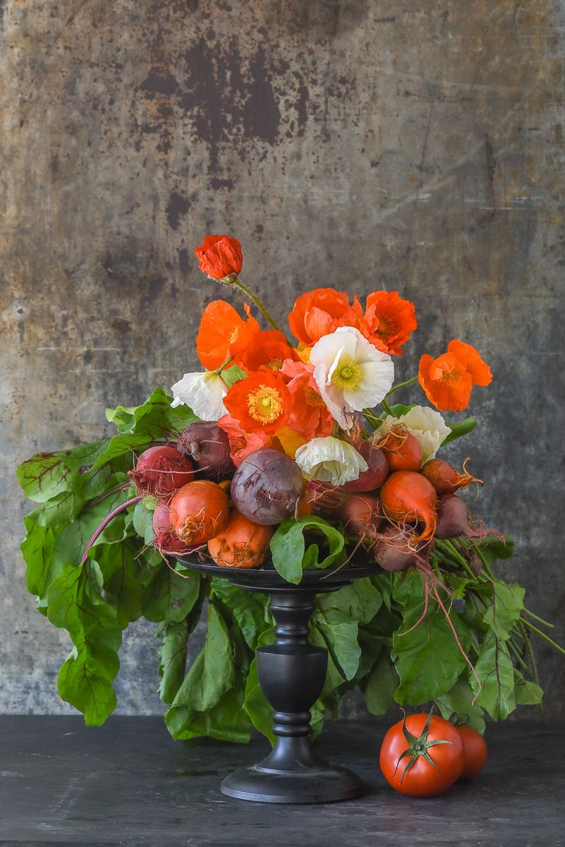 Lynn Karlin_Poppy and Beet Bouquet.jpg