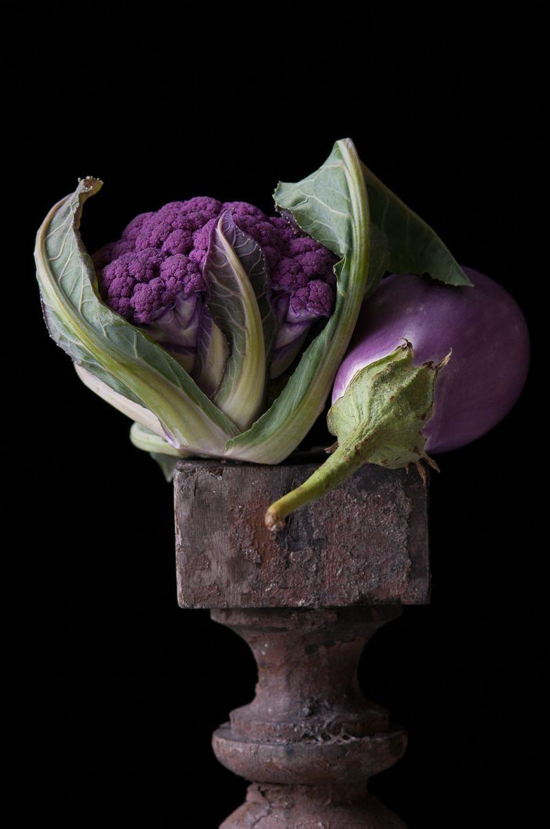 """ Purple Cauliflower with Eggplant"", 2012"