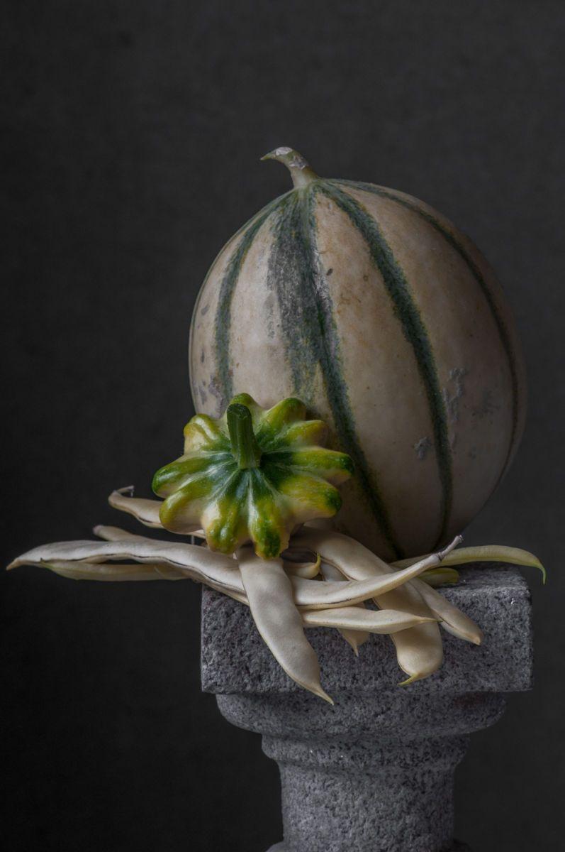 """""""Melon, Summer Squash & Beans"""", 2014"""