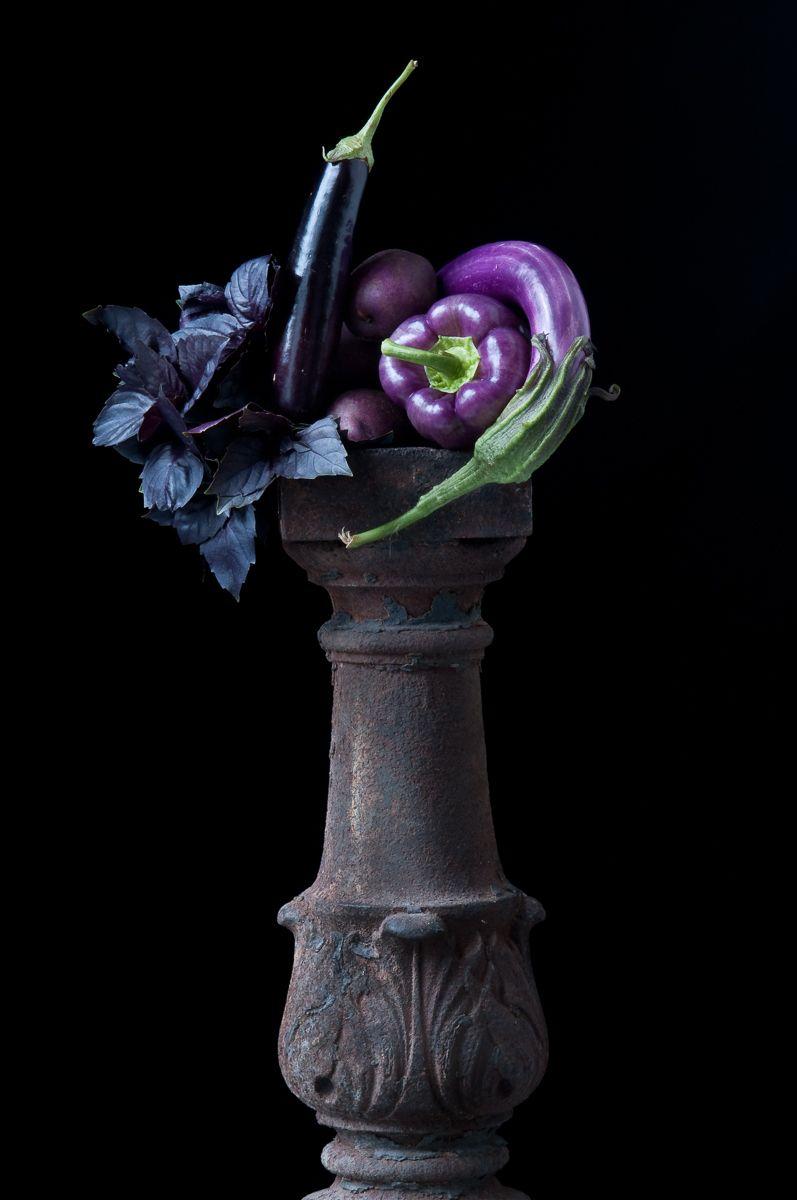 """Study in Purples"", 2011"