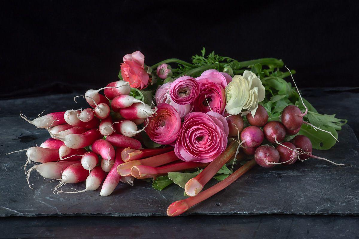 Lynn Karlin_Still Life with Rhubarb & Radishes.jpg