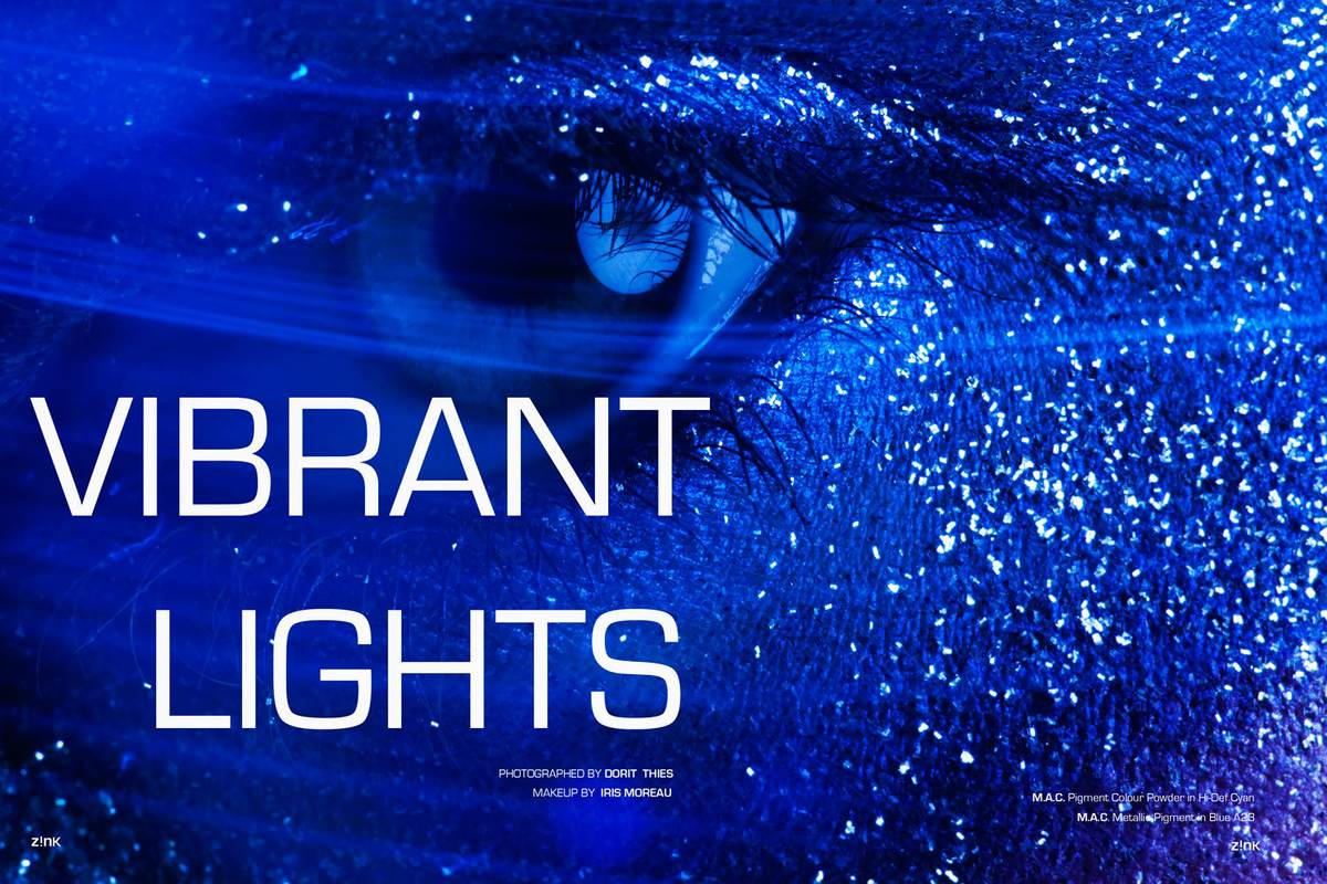 VIBRANT LIGHTS IN ZINK MAGAZINE