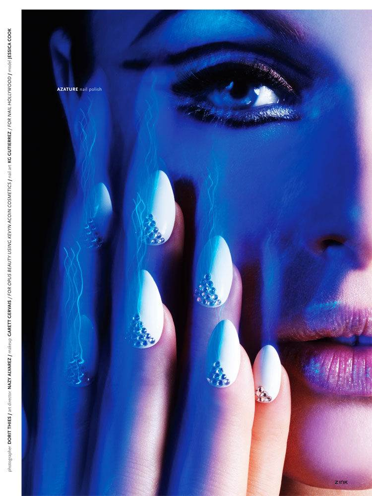 NAIL BEAUTY IN ZINK MAGAZINE