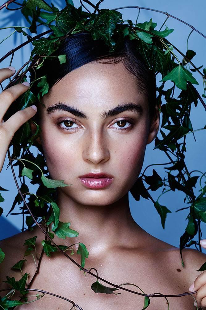 organic beauty no makeup toxins free