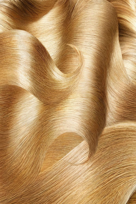 GOLDEN HAIR SAMPLE