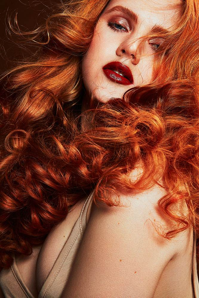 RED HAIR EDITORIAL
