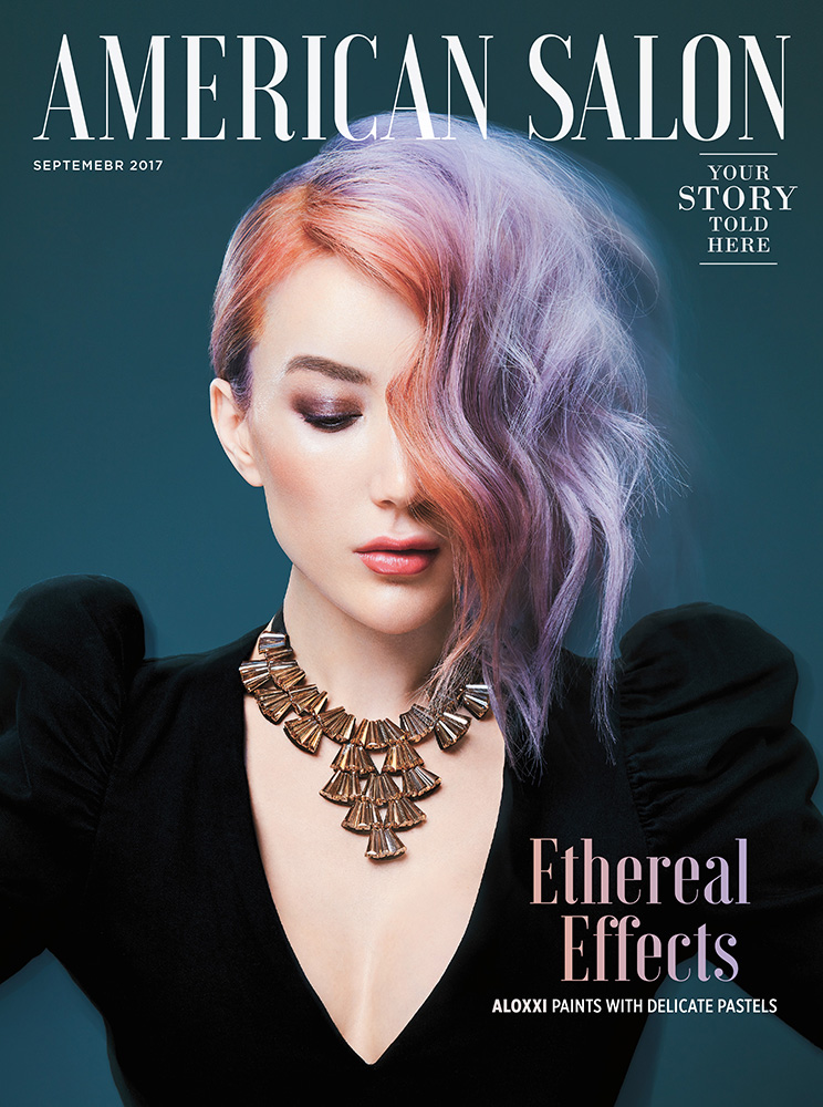 AMERICAN SALON  Cover ALOXXI - SEPTEMBER 2017