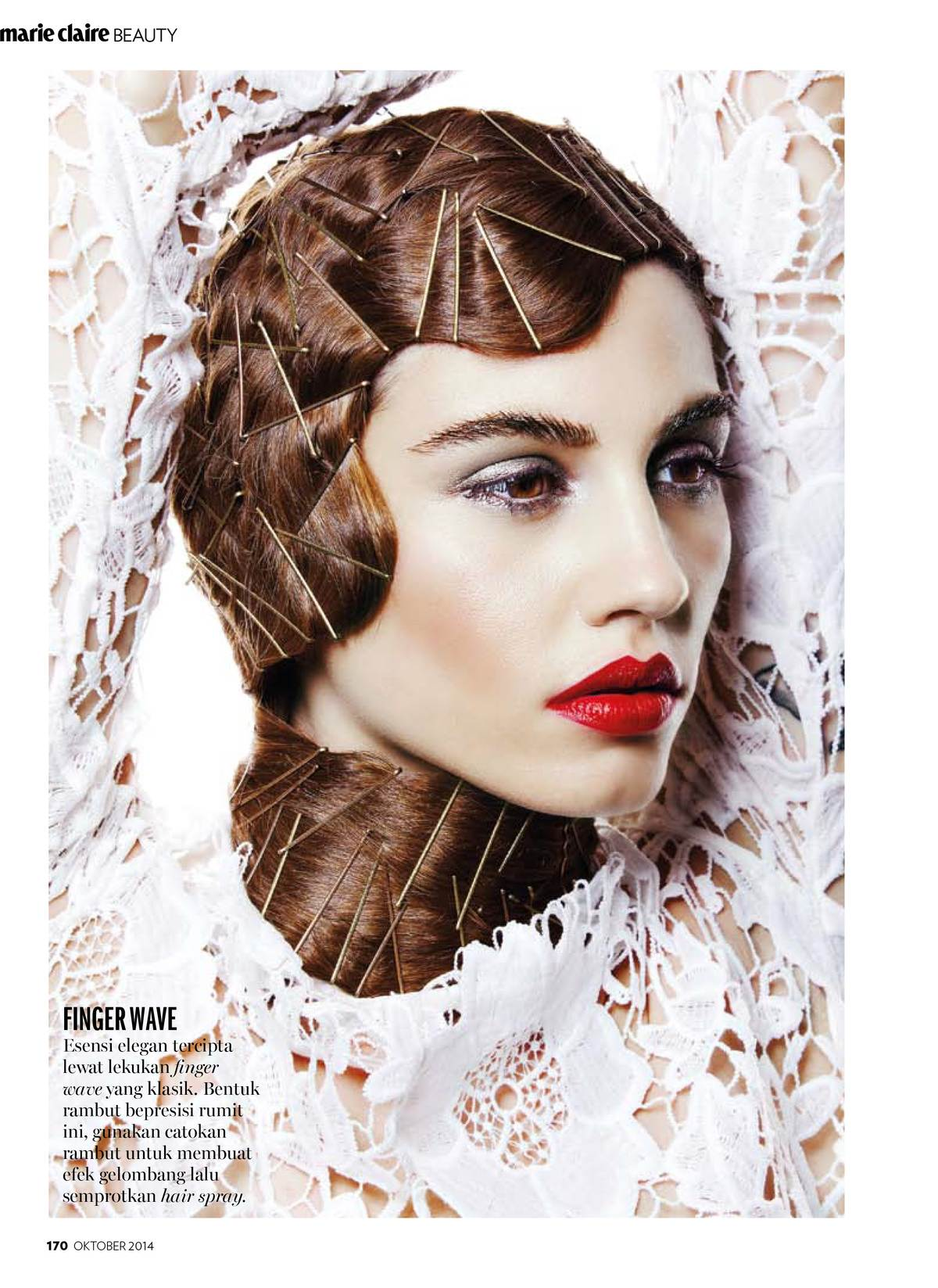 HAIR BEAUTY -  MARIE CLAIRE